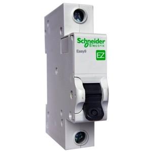 Автоматический выключатель Schneider Electric EASY 9 1П 16А С 4,5кА 230В (автомат)