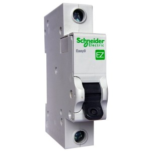 Автоматический выключатель Schneider Electric EASY 9 1П 25А С 4,5кА 230В (автомат)