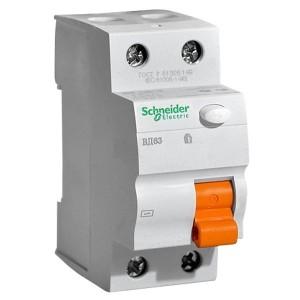 УЗО ВД63 2П 25A 30mA АС Scneider Electric