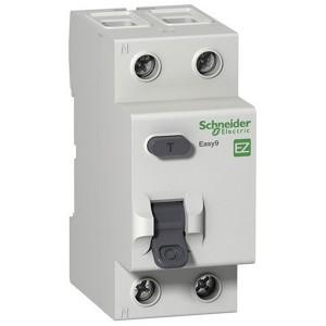 УЗО + защита от перенапряжения Easy9 2П 63А 100мА тип A 230В Schneider Electric
