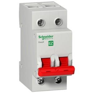 Выключатель нагрузки (модульный рубильник) Easy9 2П 100А 230В Schneider Electric