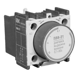 Приставка ПВИ-21 задержка на выключении 0,1-30сек. 1Н.З+1Н.О ИЭК