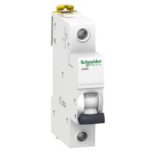 Автоматический выключатель Schneider Electric Acti 9 iC60N 1П 16A 6кА C (автомат)