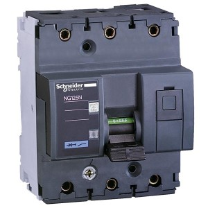Силовой автоматический выключатель Schneider Electric NG125N 3П 16A C  4,5 модуля (автомат)
