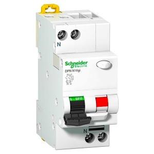 Дифференциальный атомат Schneider Electric DPN N VIGI 6кА 16A C (тип АС) 30мA