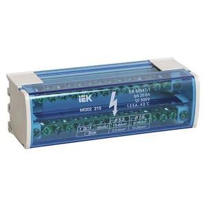 Модульный распределительный блок (кросс-модуль) L+PEN 2х15 контактов 125А ИЭК