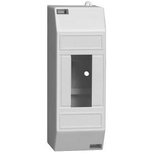 Бокс КМПн 1/2 на 1-2 модуля накладной пластиковый без дверки ИЭК