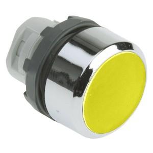 Кнопка ABB MP1-20Y желтая (только корпус) без подсветки без фиксации