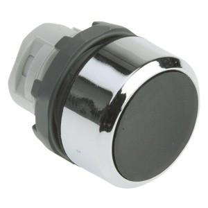 Кнопка ABB MP1-20B черная (только корпус) без подсветки без фиксации