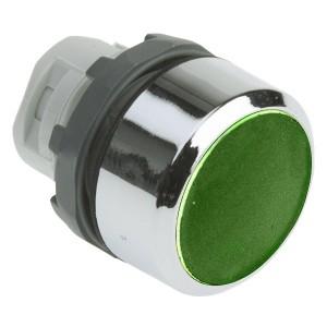 Кнопка ABB MP1-21G зеленая (только корпус) с подсветкой без фиксации