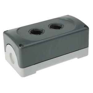 Корпус кнопочного поста ABB MEP-2-0 на 2 элемента пластиковый