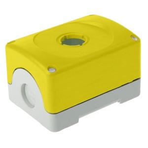 Корпус кнопочного поста ABB MEPY-0 на 1 элемент желтый пластиковый