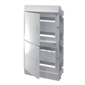 Бокс в нишу ABB Mistral41 (4x18) 72М непрозрачная дверь c клеммным блоком 41A18X41B