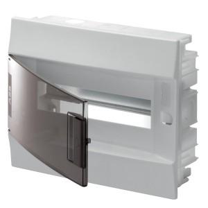 Бокс в нишу ABB Mistral41 12М прозрачная дверь c клеммным блоком 41A12X13B