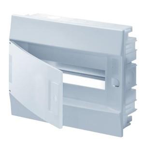 Бокс в нишу ABB Mistral41 12М непрозрачная дверь без клеммного блока 41A12X11