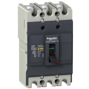 Автоматический выключатель Schneider Electric EZC100F 80A 10кА/400В 3П3T (автомат)