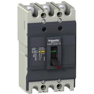 Автоматический выключатель Schneider Electric EZC100F 100A 10кА/400В 3П3T (автомат)