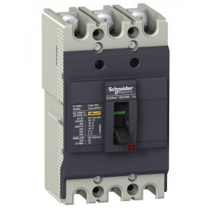 Автоматический выключатель Schneider Electric EZC100N 32A 18 кА/380В 3П3T (автомат)