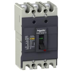 Автоматический выключатель Schneider Electric EZC100N 40A 18 кА/380В 3П3T (автомат)