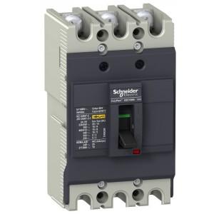 Автоматический выключатель Schneider Electric EZC100N 100A 18 кА/380В 3П3T (автомат)