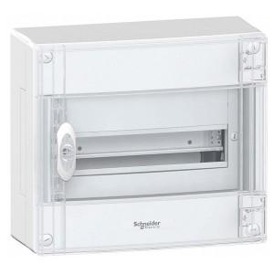 Щит навесной Schneider Electric Pragma (1х13) 13 модулей с прозрачной дверью с клемниками N+PE