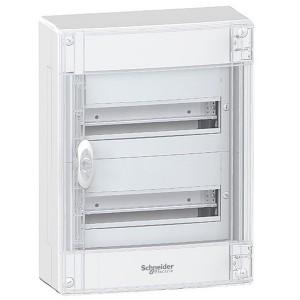 Щит навесной Schneider Electric Pragma (2х13) 26 модулей с прозрачной дверью с клемниками N+PE