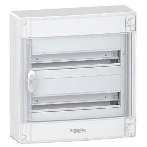 Щит навесной Schneider Electric Pragma (2х18) 36 модулей с прозрачной дверью с клемниками N+PE