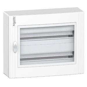 Щит навесной Schneider Electric Pragma (2х24) 48 модулей с прозрачной дверью с клемниками N+PE