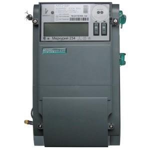Электросчетчик Меркурий 234 АRT2-00PR 5-10А 57.7/100В многотарифный транс. включения RS-485 ЖКИ