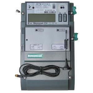 Электросчетчик Меркурий 234 АRTM-01POBR.G 5-60А 220/380В многотарифный ЖКИ GSM 1xRS485