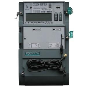 Электросчетчик Меркурий 234 АRTM2-03PBR.G 5-10А 220/380В многотарифный транс. вкл. ЖКИ GSM 1xRS485
