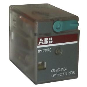Реле ABB CR-M024AC4 24B AC 4ПК (6A)