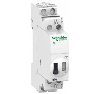 Импульсное реле Schneider Electric iTL16A 1 полюс 1НО 230В АС 110В DC 50-60ГЦ 1 модуль