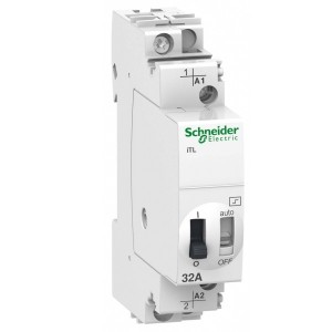 Импульсное реле Schneider Electric iTL 32A 1 полюс 1НО 230В АС 50-60ГЦ 110В DС 1 модуль