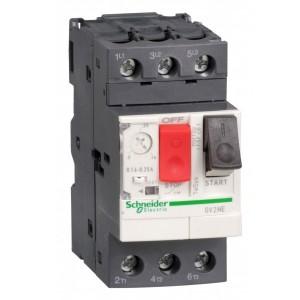 Автомат Schneider Electric TeSys GV2ME с комбинированным расцепителем 0,1-0,16А