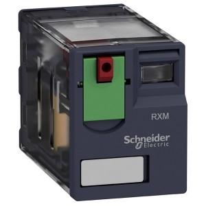 Миниатюрное реле Schneider Electric Zelio Relay  RXM 4 контакта, светодиод 230В AC 3A