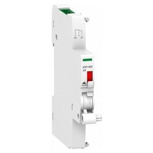 Дополнительный контакт сигнализации положения iOF+SD24 (Ti24) Schneider Electric 24В 1НО/НЗ 0,5м