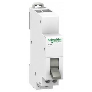Двухпозиционный переключатель iSSW Acti 9 Schneider Electric 2 полюс 2НО/НЗ 20А 250В 2 модуля