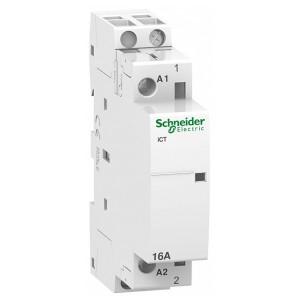 Модульный контактор iCT Acti 9 Schneider Electric 1 полюс 16A 1НО  220В АС 50ГЦ 1 модуль