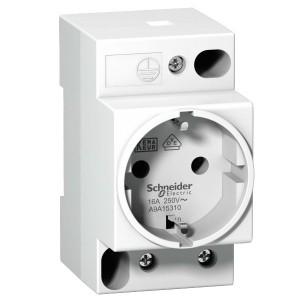 Розетка щитовая iPC Schneider Electric DIN 2П+T 16A 250В