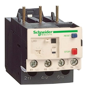 Тепловое реле перегрузки LRD Schneider Electric 0,40-0,63A класс 10 с зажимом под винт