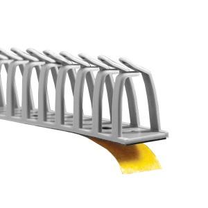 Миниканал перфорированный, самоклеящийся DKC DN-AS 17,5мм длина 0.5м