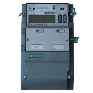 Электросчетчик Меркурий 234 АRTM-02POBR.L2 5-100А 220/380В многотарифный PLC-II встр. силовое реле