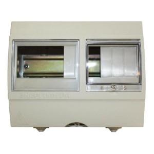 Корпус КШН6Р-11/У1 для счетчика до 5 модулей и вводного автомата до 4 модулей