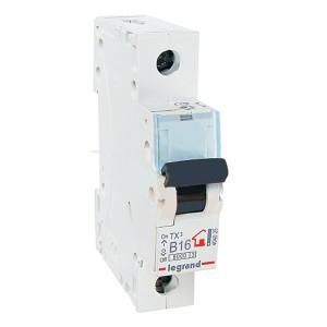 Автоматический выключатель Legrand TX3 B16A 1П 6kA (автомат)