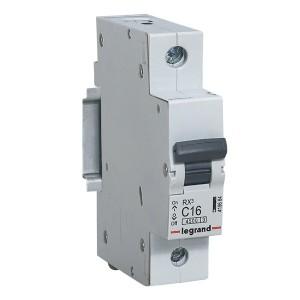 Автоматический выключатель Legrand RX3 1П 16A 4,5кА C (автомат)