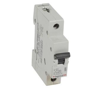 Автоматический выключатель Legrand RX3 1П 20A 4,5кА C (автомат)