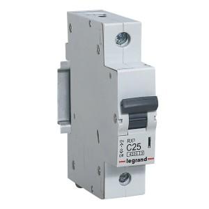 Автоматический выключатель Legrand RX3 1П 25A 4,5кА C (автомат)