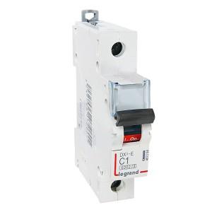 Автоматический выключатель Legrand DX3-E C1 1П 6000/6kA (автомат)