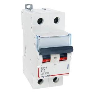 Автоматический выключатель Legrand DX3-E C1 2П 6000/6kA (автомат)